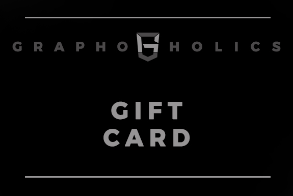 Graphoholics' GIFT CARD